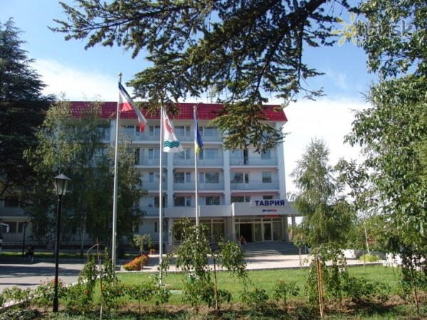 Здание гостиницы Таврия