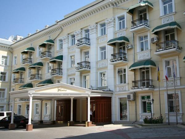На фото отель «Украина»